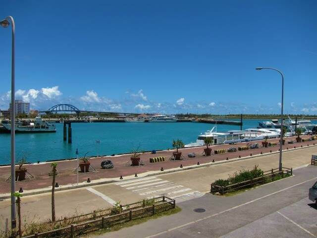 Ishigaki Island Port Isolated Island Terminal