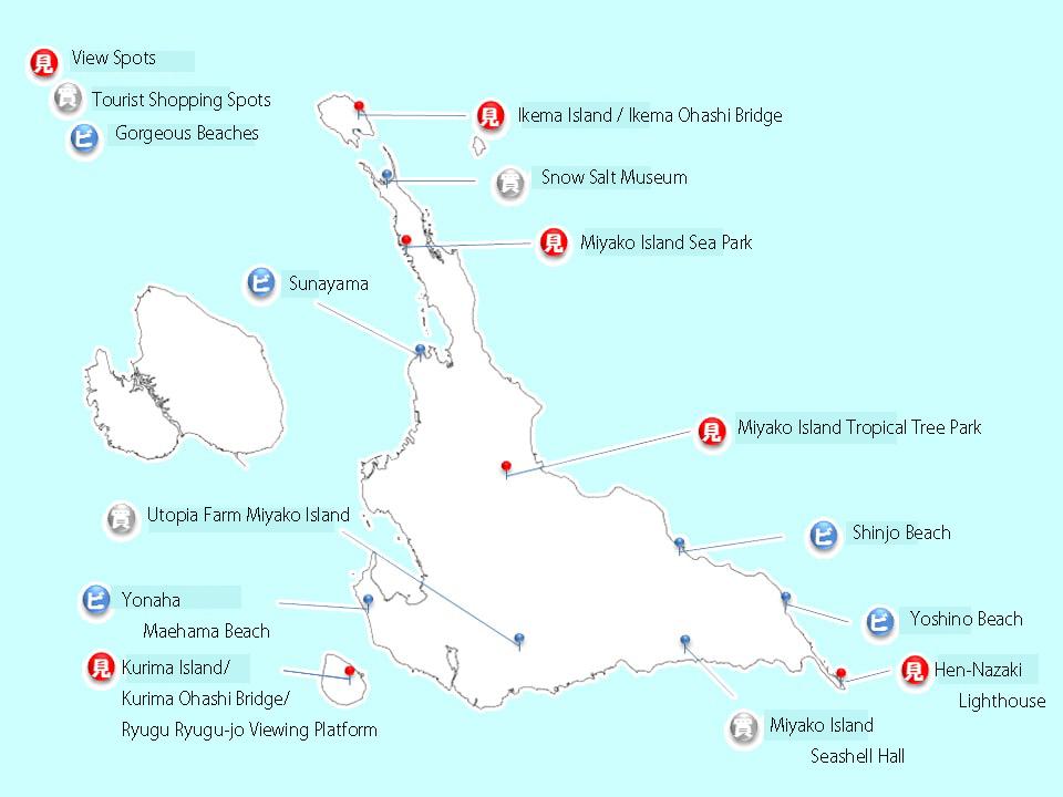miyakojima map