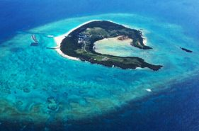 Appealing Point of Minna Island ~Suprising Beautiful Ocean~