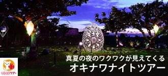 しろくまツアーの夏休み沖縄ナイトツアー特集