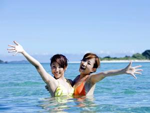 日帰り海水浴