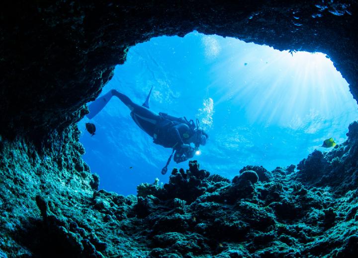 一度この目で見てみたい青の洞窟