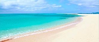 はての浜で海水浴