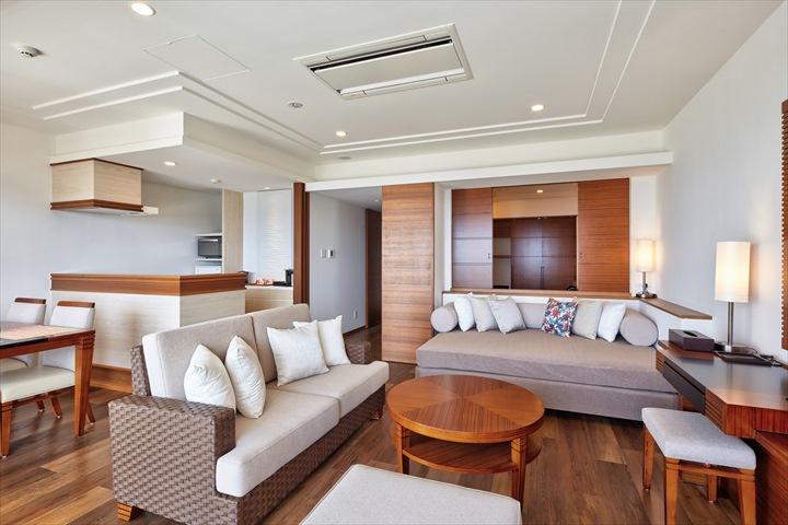 沖縄 高級リゾート アラマハイナコンドホテル 客室