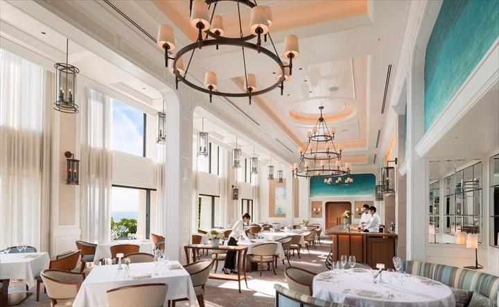 沖縄 高級リゾート ハレクラニ レストラン ミシュラン