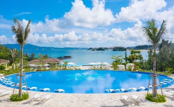 沖縄 高級ホテル ハレクラニ オーキッドプール
