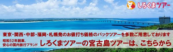 宮古島ツアーバナー