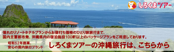 しろくまツアーの沖縄旅行