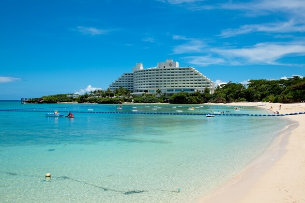 Okinawa S Most Picturesque Scenery The Desireable Manza Cove Is Iconic Beach This Calm Inlet Has A Beauty That You Can Enjoy Just By Gazing At