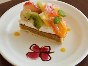 Cafe YABUSACHI cake