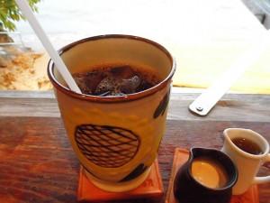 浜辺の茶屋・アイスコーヒー