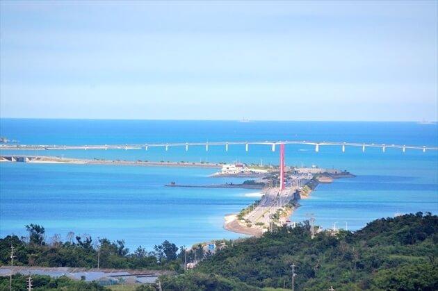 沖縄・海中道路