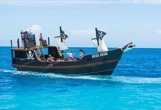 ルネッサンスリゾート 海賊船