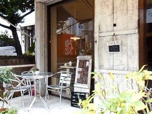シナモンカフェ・オープンデッキ