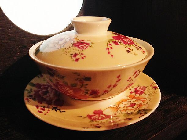 流求茶館カップ