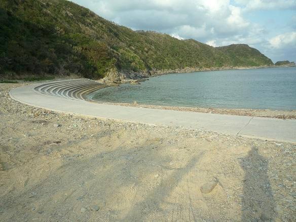 安波ビーチ