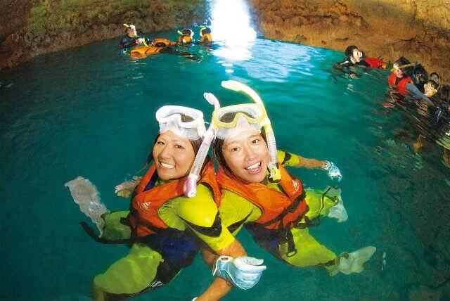 okinawan blue cave