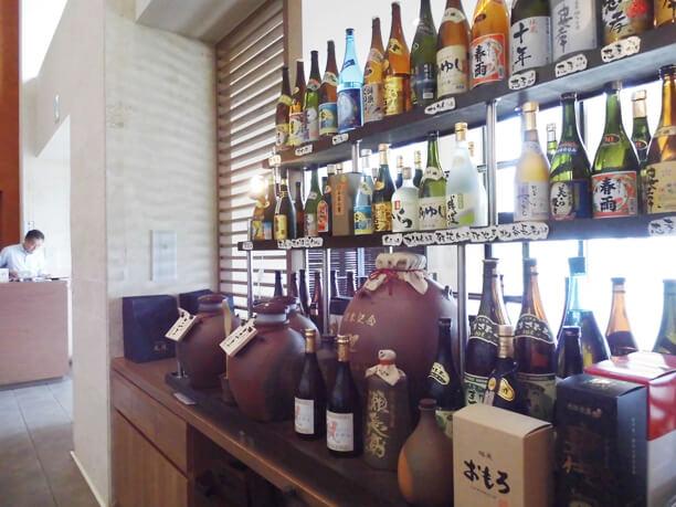 Senagajima hotel自慢の焼酎