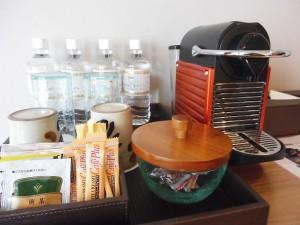 お部屋備付のコーヒーメーカー