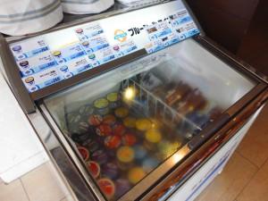瀬長島ホテル売店・ブルーシールアイスクリーム