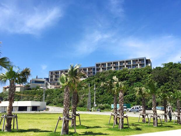 瀬長島ホテル外観