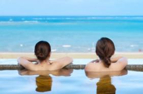 沖縄の海とサンセットが美しい♪瀬長島・琉球温泉 龍神の湯レポ
