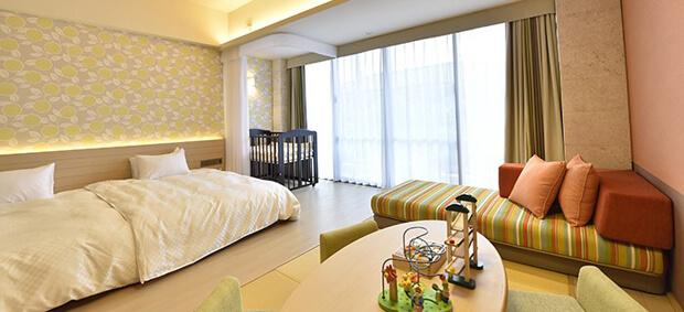 フサキビーチリゾート ホテル & ヴィラズのファミリールーム