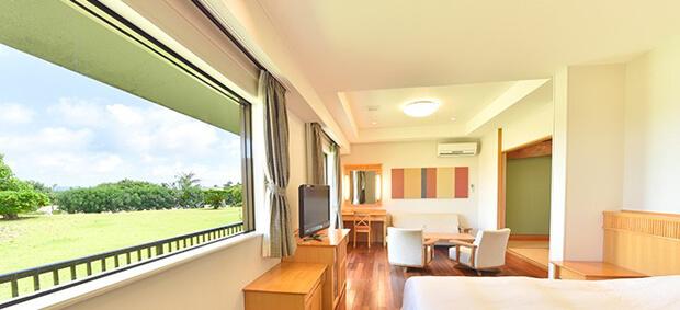 フサキビーチリゾート ホテル & ヴィラズから見る景色