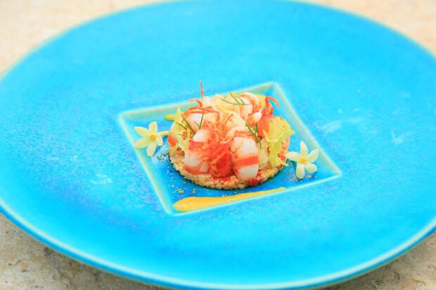 星のや竹富島は県産食材が有効