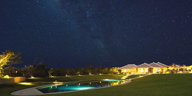 星のや竹富島の夜