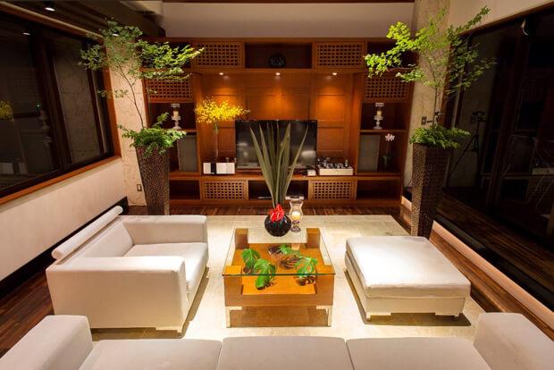 ワンスイートホテル&リゾート古宇利島の室内