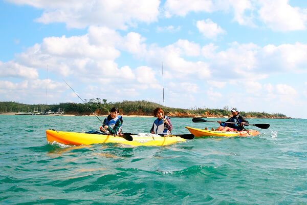 Kabira bay kayak