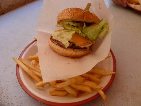 Okinawan  hamburger