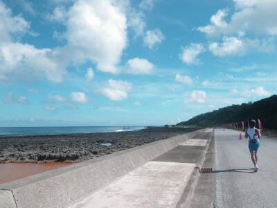久米島マラソンのイメージ