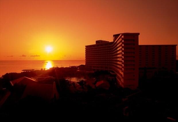 Okinawa夕日