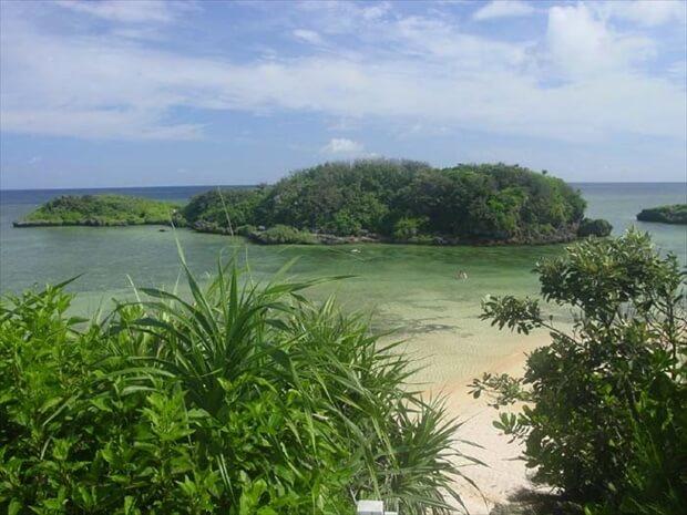 西表島ビーチ 星砂の浜