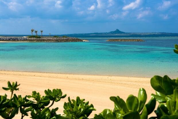 海洋博公園から伊江島