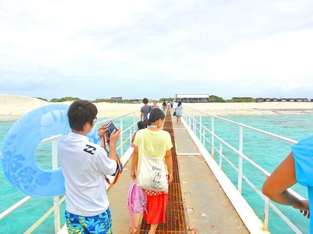 ナガンヌ島の桟橋