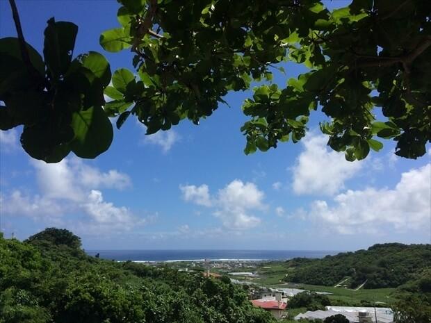 沖縄南部の風景