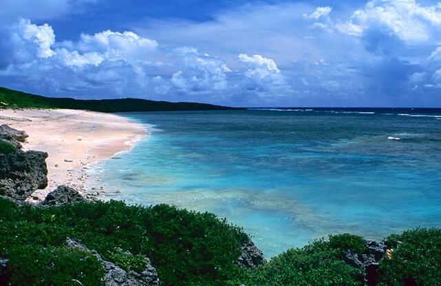 波照間島の海辺