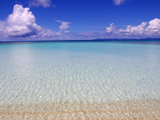 波照間島の北浜(ニシハマ)