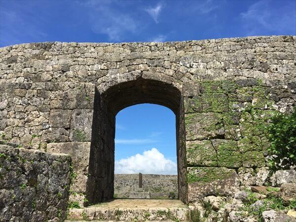 沖縄 世界遺産 中城城跡