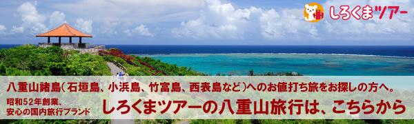 しろくまツアー石垣島バナー