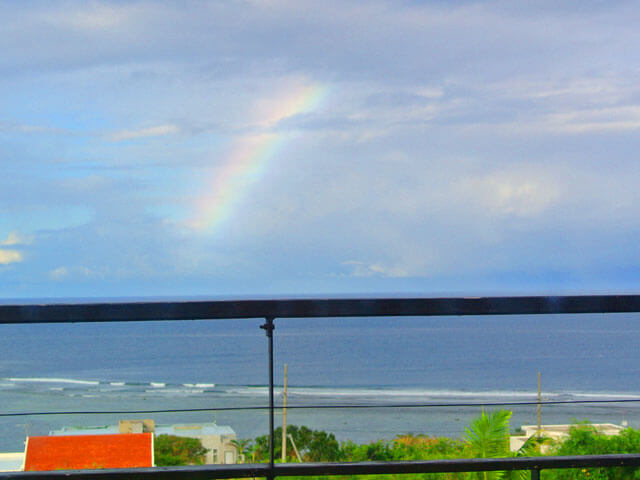 石垣島で見た虹