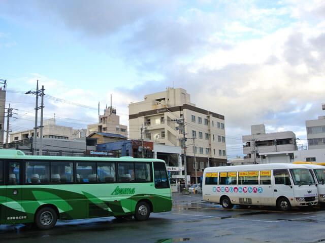 石垣島・バスターミナル