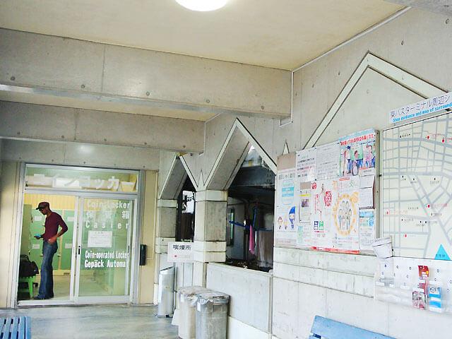 石垣バスターミナルのコインロッカー