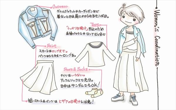 沖縄・春の服装