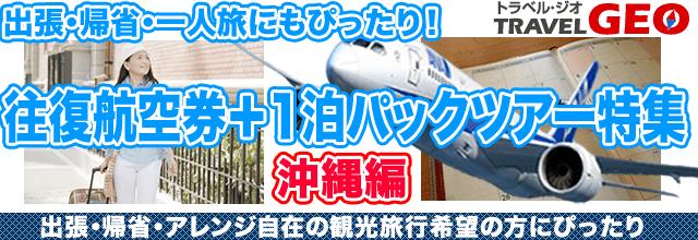 往復航空券 GEO沖縄