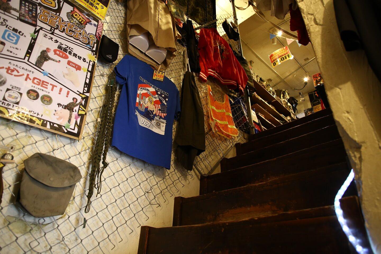 店舗内階段