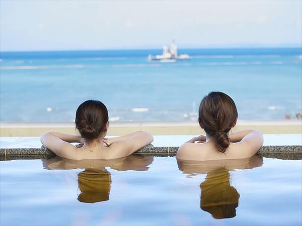 Okinawa hot spring spot